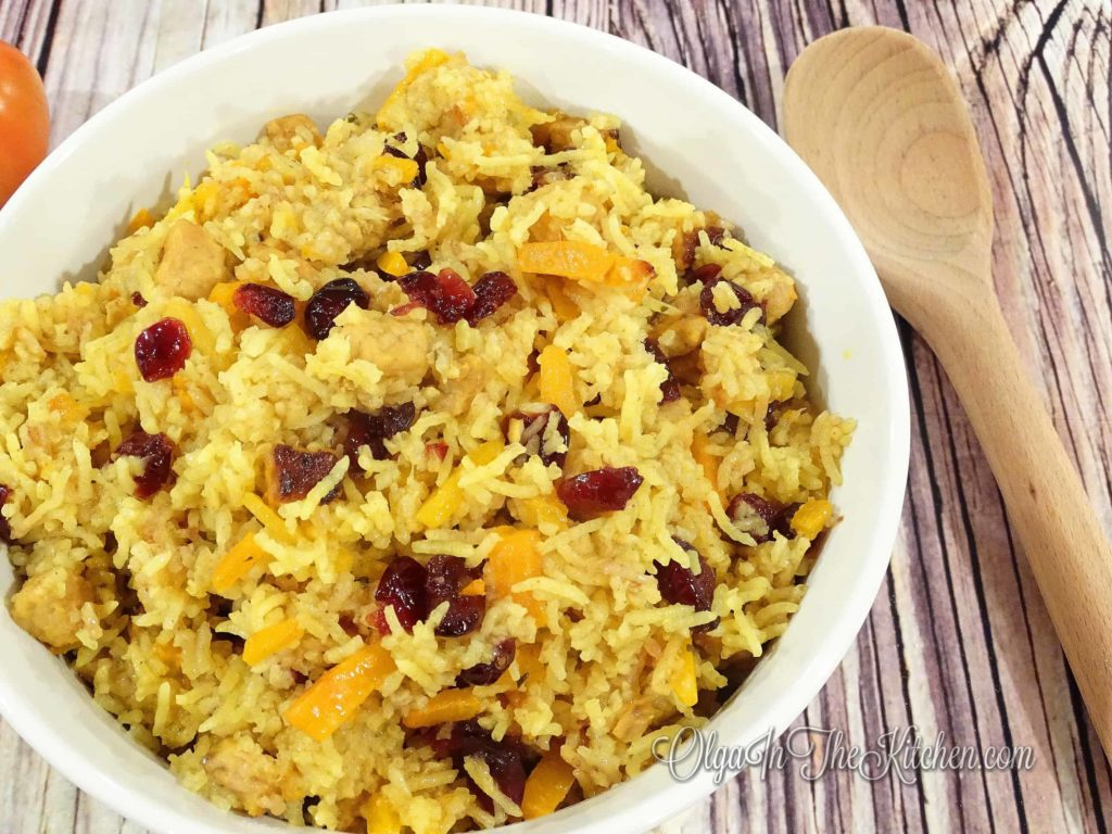 Pork Plov (Pork Rice Pilaf Uzbek Dish): rich in taste, a marvelous dish to serve at any event; based on few Uzbek Pilaf recipes. | olgainthekitchen.com