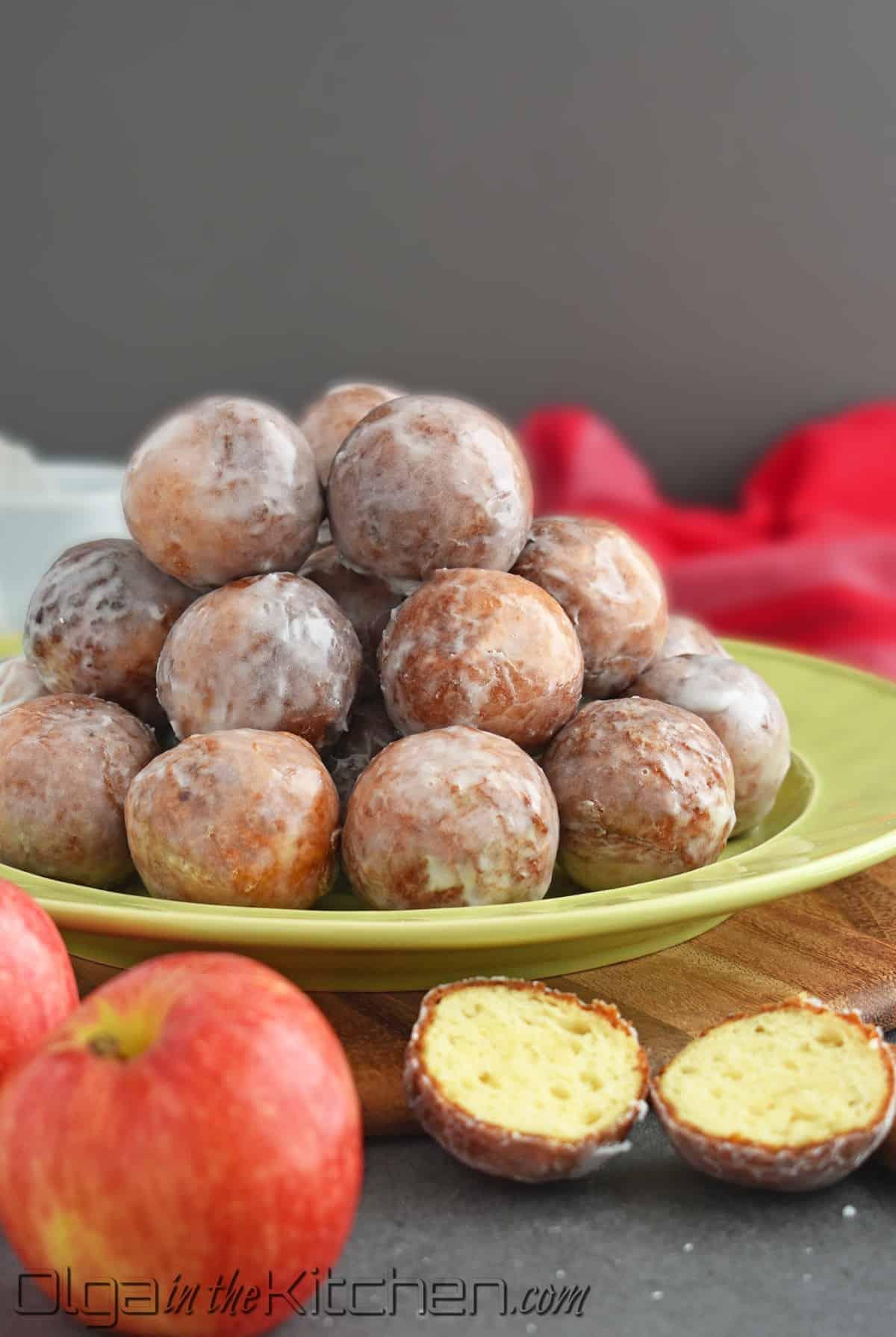 mashed potatoes doughnut holes