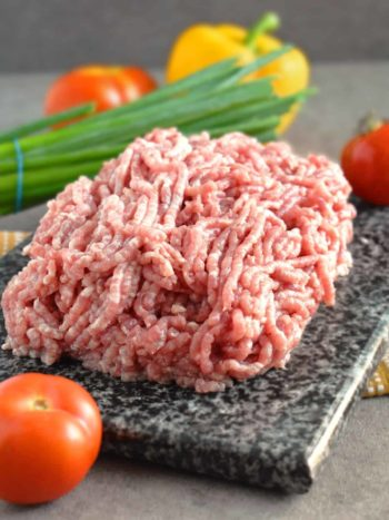 Buying, Grinding and Storing Ground Pork Meat: easy process to always have ground pork at home whenever you crave fresh meatballs that can be done in no time. | olgainthekitchen.com
