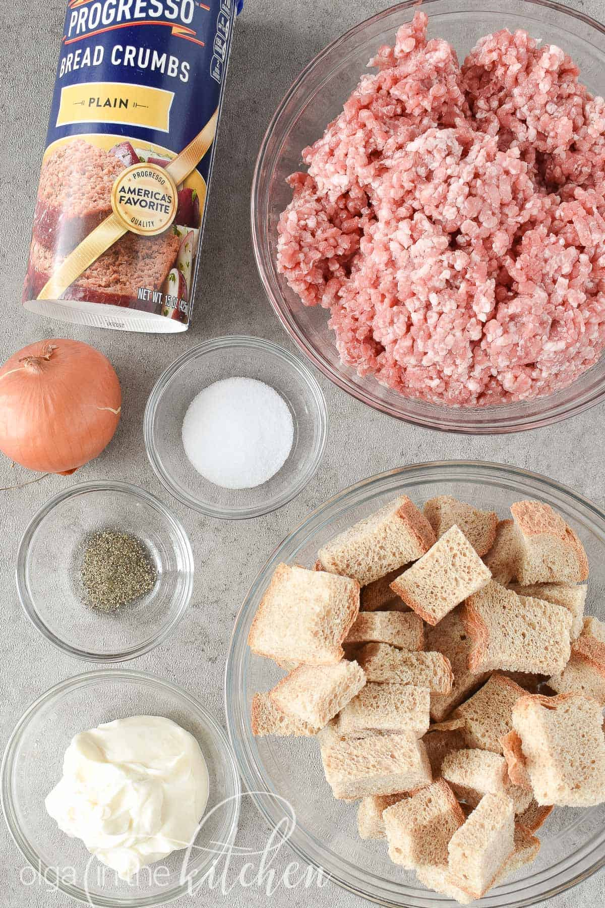 Ukrainian Pork Meatballs (kotlety) are perfectly tender and hearty and you will love that these are oven baked.   olgainthekitchen.com