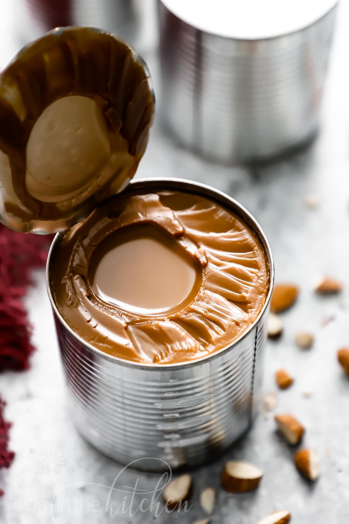 Een makkelijk Dulce de Leche (Gekookte Gecondenseerde Melk) recept met slechts 1 ingrediënt! yoastmark class='yoast-text-mark' srcset='yoast-text-mark' srcset=
