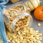 Roasted Pumpkin Seeds: an easy step-by-step classic Ukrainian tutorial on how to roast this healthy snack your whole family will love. Crunchy and delicious every time. | olgainthekitchen.com