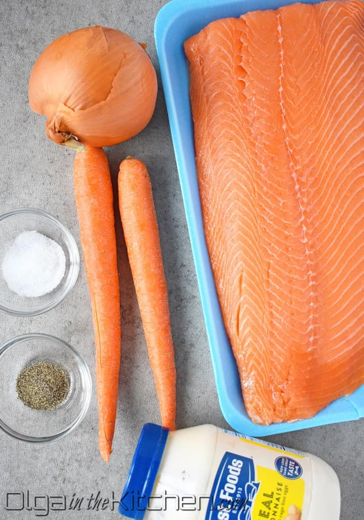 slow roasting salmon