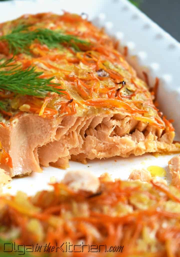 how to roast salmon in oven