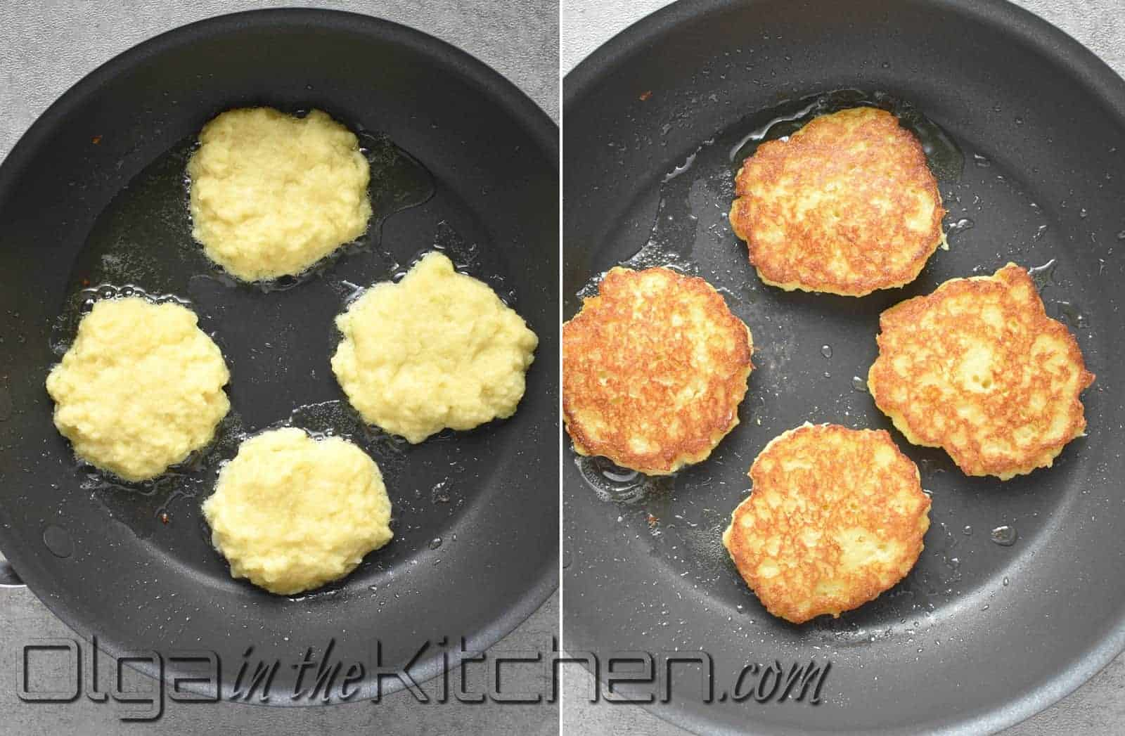 how to fry potato pancakes