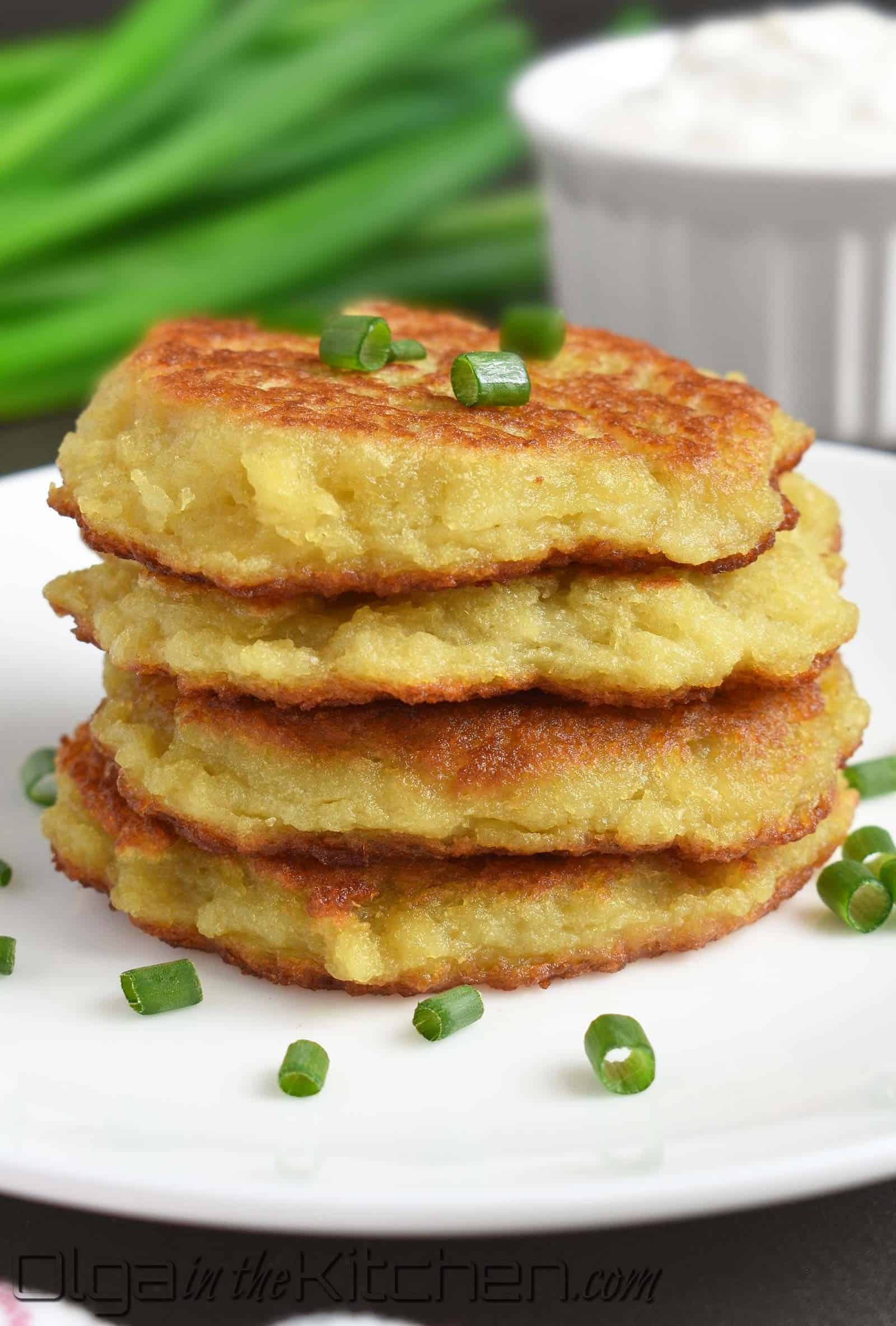 how to make potato pancakes