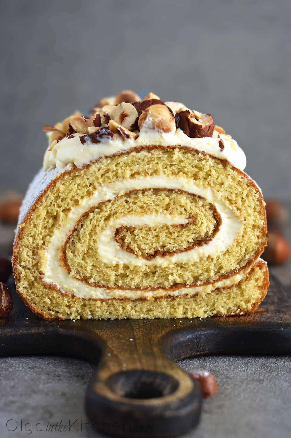 honey cake roll recipe