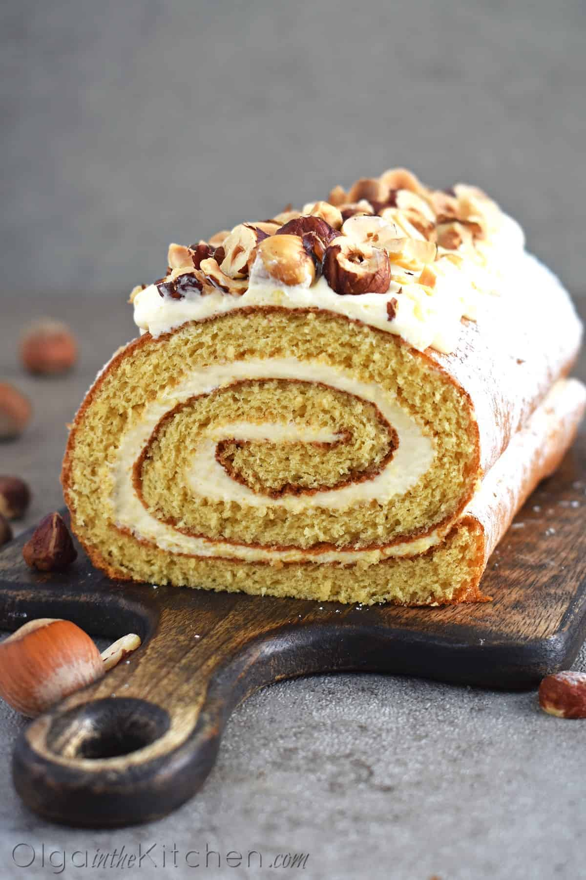 honey cake roll recipe