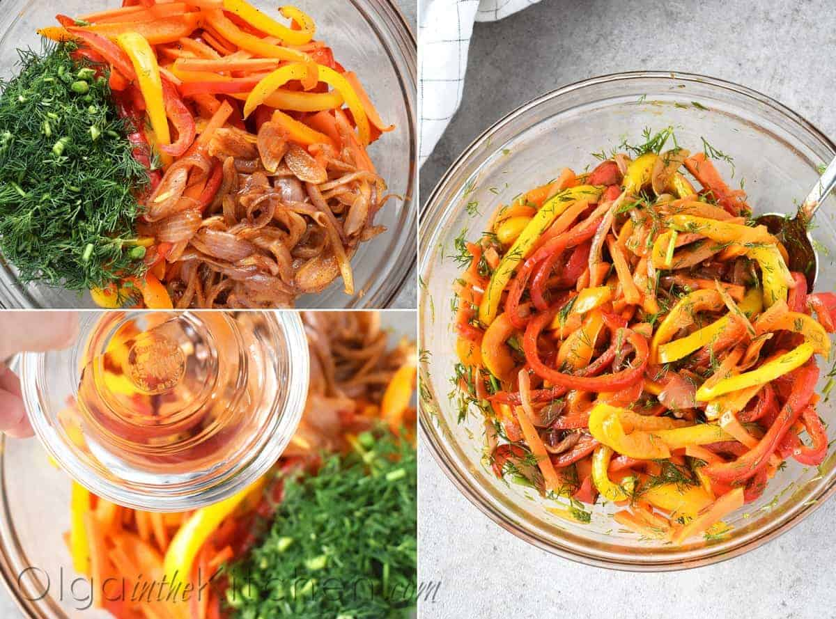 roasted pepper salad dressing