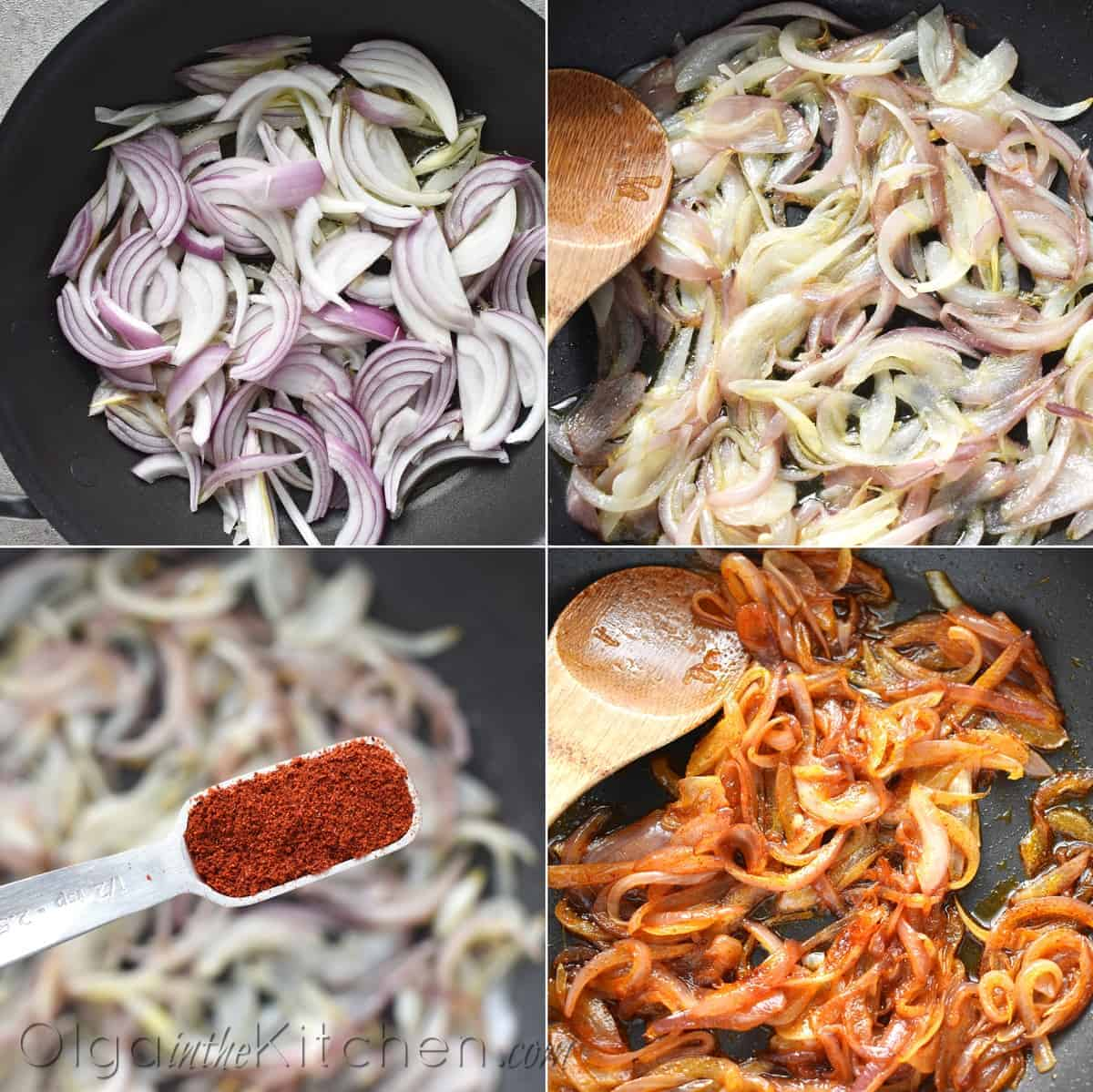 how to saute onions