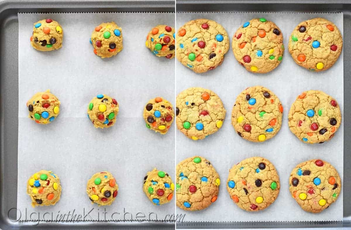 how to make mm cookies