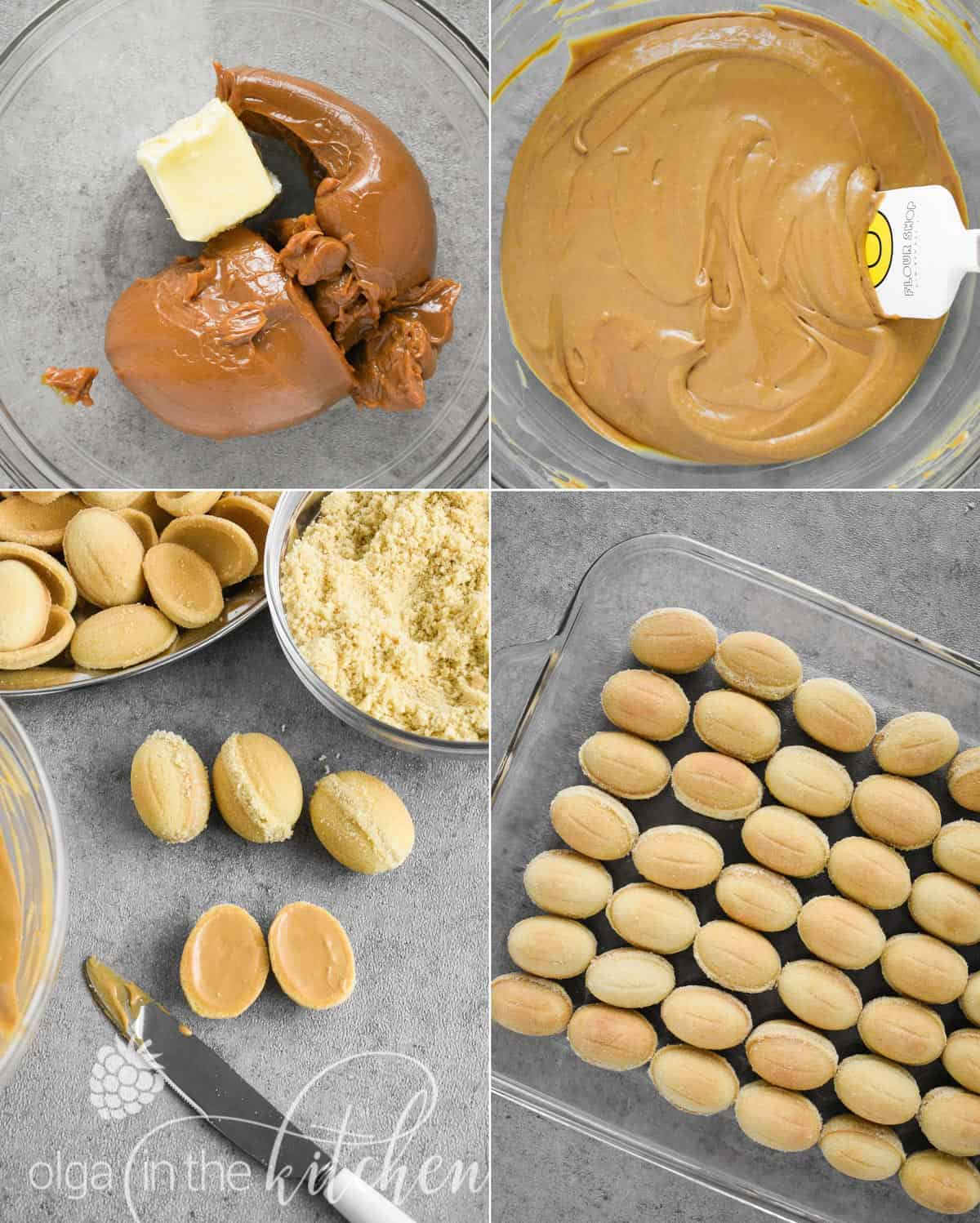 Oreshki are the traditional crisp and flaky walnut shaped cookies filled with dulce de leche filling. These beautiful delights are the iconic treats for Slavic families, especially during holidays and special occasions.   olgainthekitchen.com
