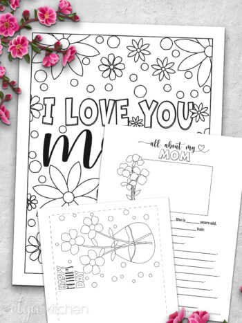 Celebrate mom with these Printable Mother's Day Gift Ideas that are thoughtful, easy and sure to make your mom smile!